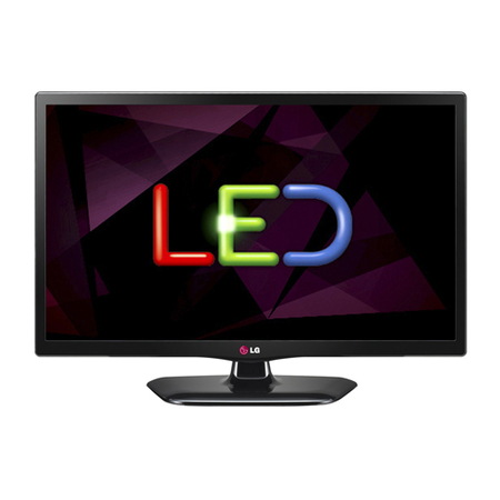 TV Monitor Led 22´ Full HD, PiP, VGA, HDMI, USB 22MT45D Preto - LG