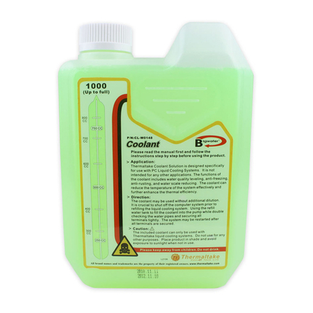 Líquido Aditivo Water Cooler UV Coolant 1000C CLW0148 - Thermaltake