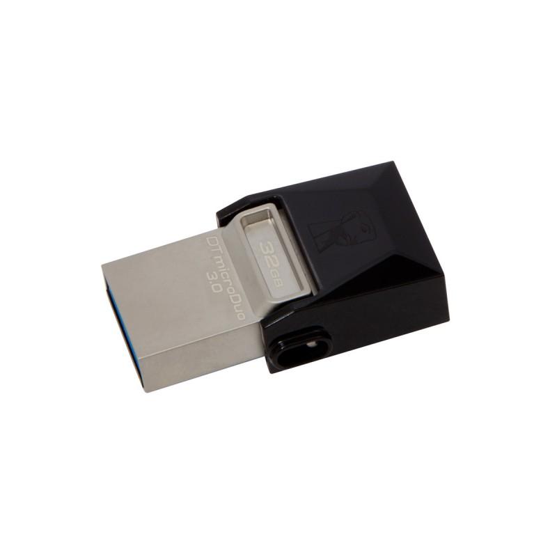 Pen Drive Smartphone DTDUO3/32GB DT micro Duo 32GB USB 3.0 - Kingston