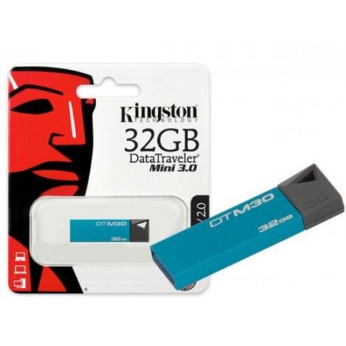 Pen Drive DataTraveler Mini 3.0 32Gb Azul DTM30/32GB - Kingston