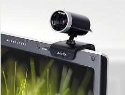 Webcam 16MP Full HD 1080p C/Microfone PK-910H Preto e Prata - A4tech