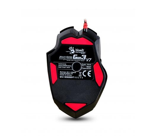 Mouse Bloody Gamer Óptico V7MA USB 3200dpi 8 Botões - A4tech