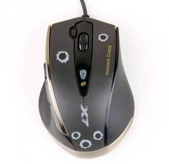 Mouse USB Gamer V-Track F3 Preto - A4tech