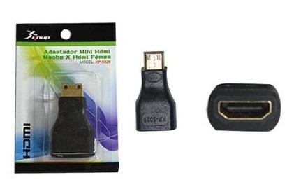 Adaptador HDMI P/Mini HDMI F X M KP-5029 AD0135 - Knup