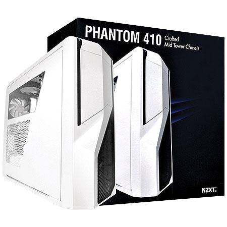 Gabinete Mid Tower Phantom 410 Branco Piano CA-PH410-W1 - NZXT