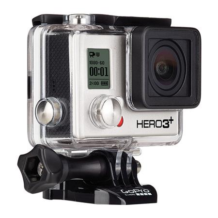 Câmera Hero 3+ Black Edition 12MP Full HD 1080p Wi-Fi CHDHX-302 - GoPro