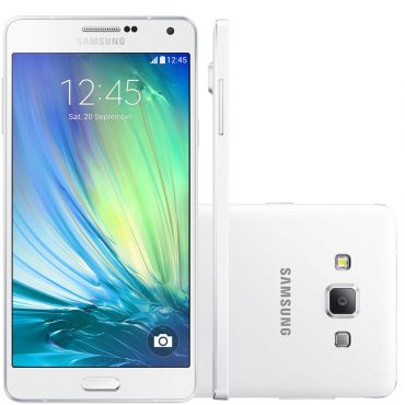 Smartphone Galaxy A7 Duos, 4G, Android 4.4, 16GB, 13MP, Branco A700FD - Samsung