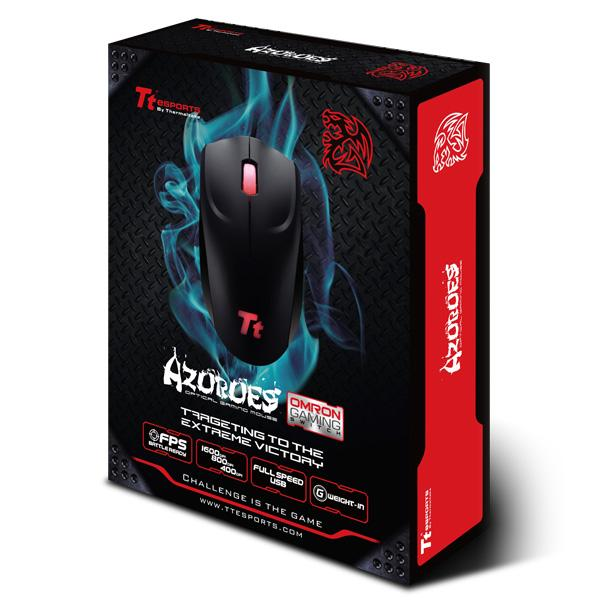 Mouse Gamer Óptico Sports Azurues Retailer Box MOARS003DTD - Thermaltake