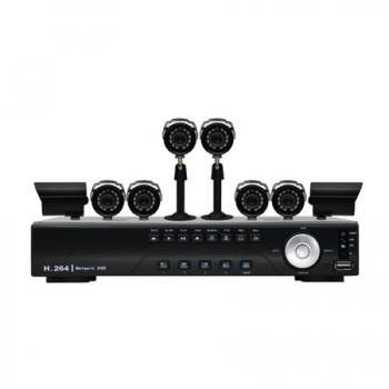 Kit Vigilancia Digital CFTV DVR 8 Canais e 8 Cameras CCD Sony - DK8-C1808CCD (17681-1) - Vonnic
