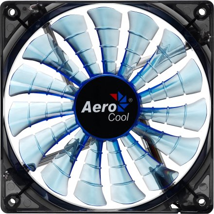 Cooler FAN AeroCool 12cm EN55420 Shark Blue Edition - Aerocool