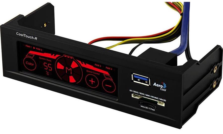 Controlador de FAN Cool Touch-R EN51554 - Aerocool