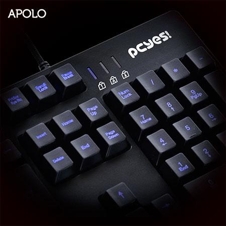 Teclado Gamer com Blacklight Apolo 22150 - PCYES