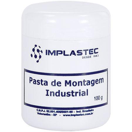 Pasta de Montagem Industrial Pote 100G 20538 - Implastec