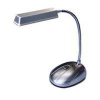 Luminária de Mesa 8 LEDs USB/Pilhas 6265 Prata - Force Line