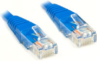 Patch Cord CAT5E Azul 3 Metros PC-CBETH3001 - Plus Cable