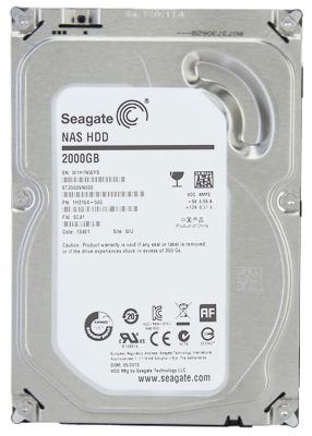Hard Disk 2TB NAS ST2000VN000 64MB Sata III - Seagate