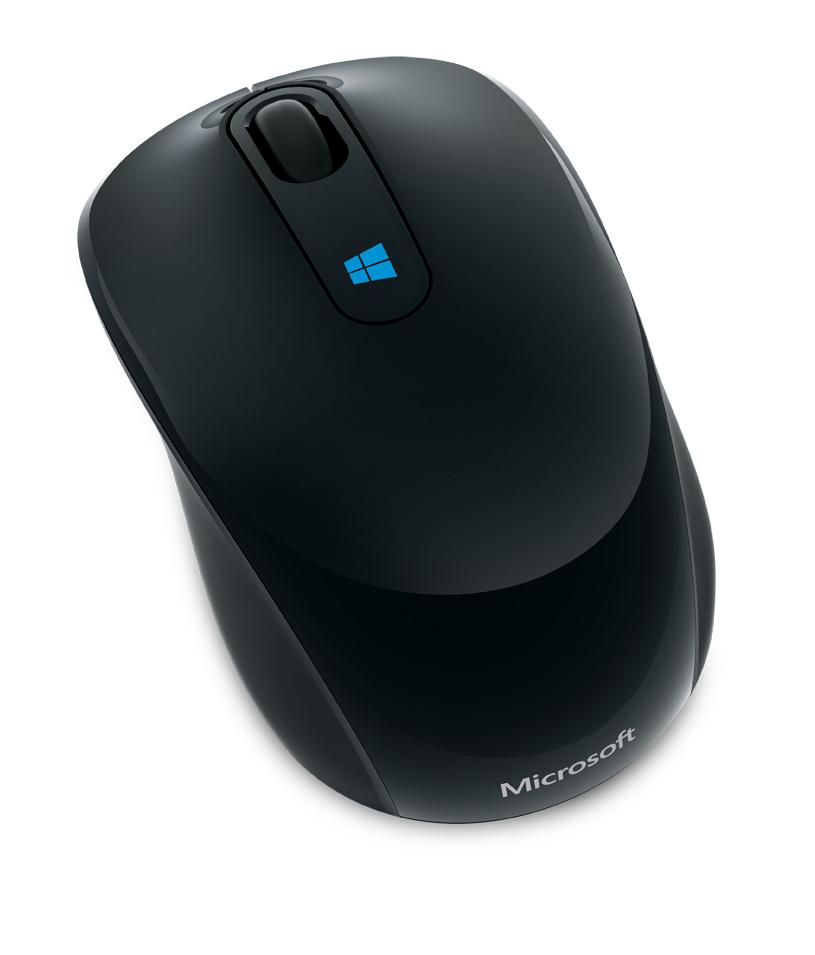Mouse Sculpt Mobile Wireless Preto 43U-00008 - Microsoft