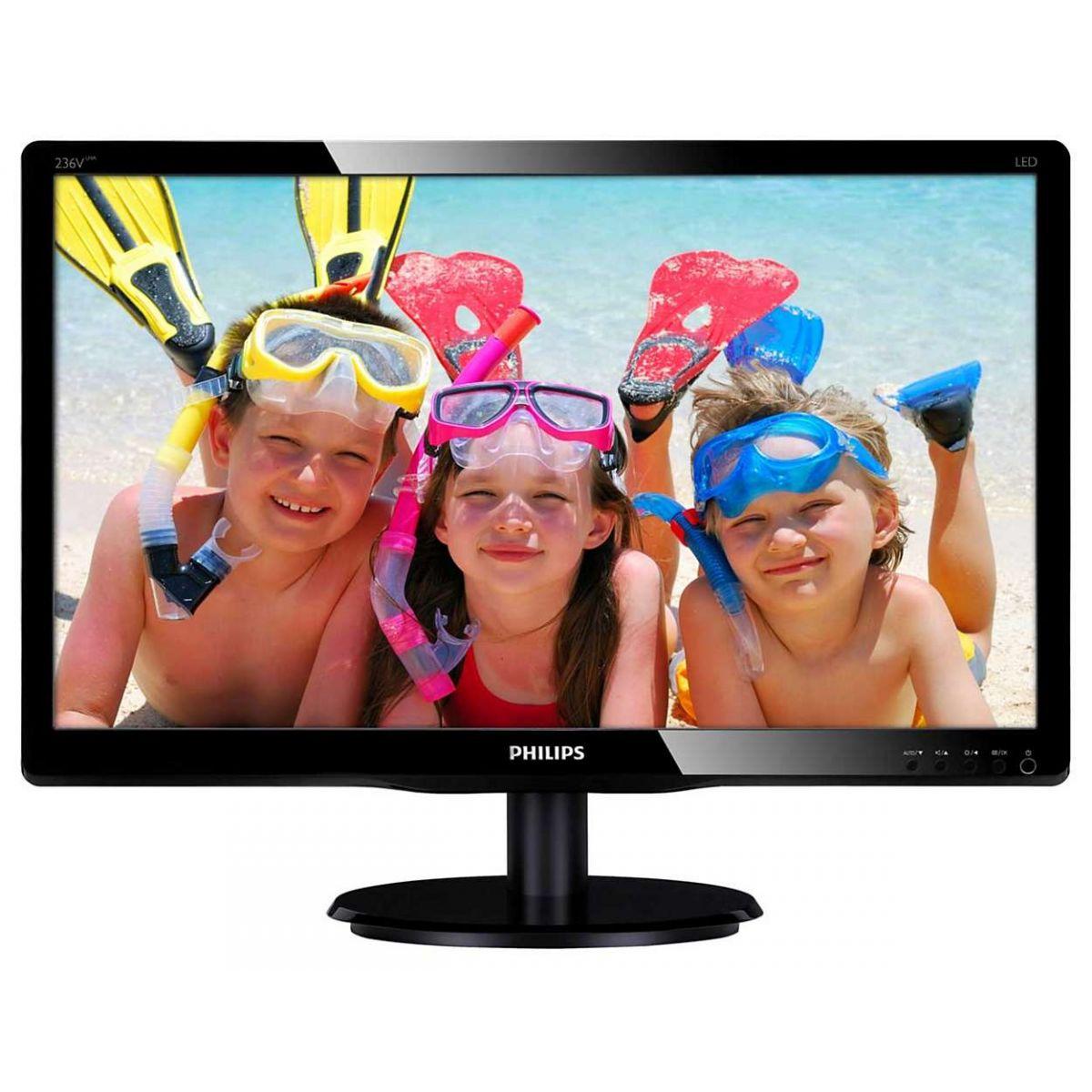 Monitor LED 23 Vesa 233V5QHABP Smartcontrol - Philips