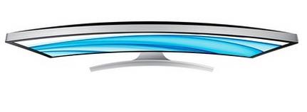 Monitor LED Tela Curva 27 Full HD, HDMI, D-SUB, DisplayPort S27D590CS - Samsung