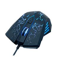 Mouse Ótico Gamer Camaleão USB com 7 LEDs 1600DPI MG-01 - Evus