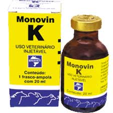 MONOVIN K 20ML VITAMINA COAGULAÇÃO ANTI-HEMORRÁGICO BRAVET  - Raça Virtual