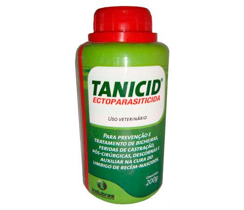 TANICID 200G ECTOPARASITICIDA CICATRIZANTE INDUBRAS  - Raça Virtual