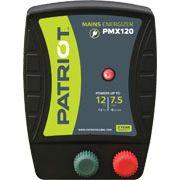 ENERGIZADOR PATRIOT PMX120 50KM 1.2 JOULE ELETRIFICADOR APARELHO CERCA ELÉTRICA RURAL TRU-TEST