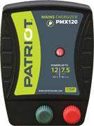 ENERGIZADOR PATRIOT PMX120 50KM 1.2 JOULE ELETRIFICADOR APARELHO CERCA ELÉTRICA RURAL TRU-TEST  - Raça Virtual