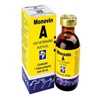MONOVIN A 20 ML VITAMINA A CEGUEIRA CONJUNTIVITES DIARRÉIA BRAVET  - Raça Virtual