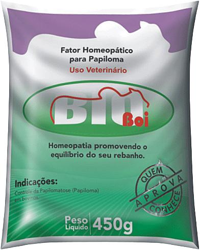 BIOBOI HOMEOPATIA PACOTE 450G FATOR CONTROLE DE PAPILOMA VERRUGA FIGUEIRA OU PAPILOMATOSE MEDICAMENTO HOMEOPÁTICO BOVINO  - Raça Virtual