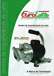 BOMBA DE TRANSFEFRENCIA DE LEITE BTL 2000 EUROLATTE  - Raça Virtual