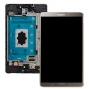 Frontal Touch e Lcd Samsung Tab S 8.4´ SM-T705 Titanium Bronze