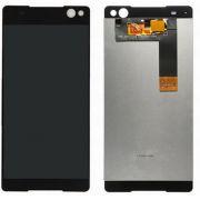 Frontal Touch e Lcd Sony Xperia C5 E5563 Preto