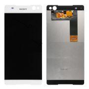 Frontal Touch e Lcd Sony Xperia C5 E5563 Branco