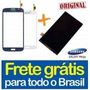Display lcd com Tela Touch Galaxy Mega I9152 Preto Branco