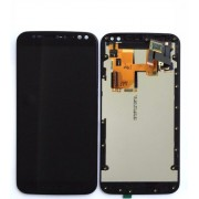 Tela Touch Com Lcd Display Moto X Style Xt1572 Xt1570 1572 Preto Com Aro
