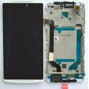 Frontal Lenovo Vibe A7010 / A701a48 com Aro Branco