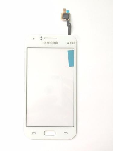 Touch Samsung Galaxy J1 J100 Branco - 1 Linha