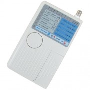 Testador de Cabos 4 em 1 (RJ-45 / RJ-11 / BNC / USB) Profissional NETworkBOX