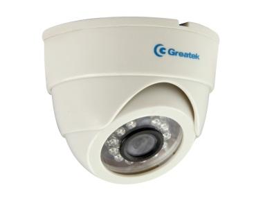Câmera Dome IR Greatek 10 metros 800 linhas - SEGC-8011D