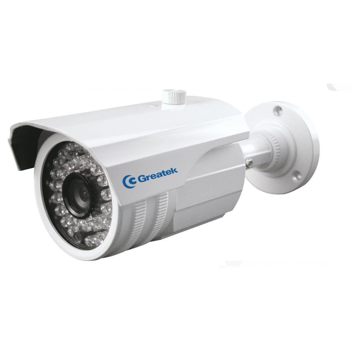 Câmera IR Externa Greatek 30 metros 760 linhas lente 3,6mm - SEGC-7633G