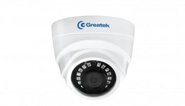 Camera Dome Interna Greatek AHD 1000H 20m Lente 2.8mm - SEGC-1026D