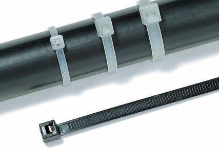 Abraçadeira Hellermann Tyton 200x4,6mm C/ 100 Unidades NATURAL - T50R