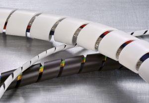 Organizador de Cabos Spiral Tube (Espaguete) Hellermann Tyton Blister C/ 2 metros Branco 3/4