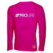 Blusa Feminina Sun Protection Prolife Rosa - Proteção Solar UV UPF 50+