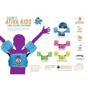 Colete Homologado Infantil Ativa kids Galinha Pintadinha Classe V
