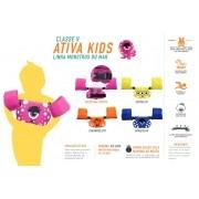 Colete Homologado Infantil Ativa kids Monstros Classe V