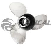 Hélice para Motor de Popa Solas 135 a 300 Bucha Cambeável+