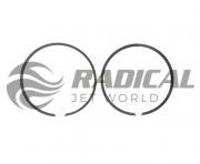 Jogo Anel Wiseco para Jet Ski Polaris 1050 1.50 83mm