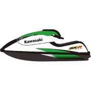 Kit Adesivo Jet Ski Kawasaki SXR 800 2006 Verde